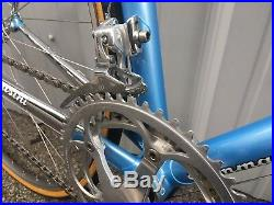 Tommasini Tecno Road bicycle. NOS Campagnolo Record groupset. 51cm seat tube