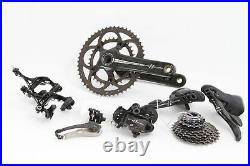 USED Campagnolo Super Record Groupset Rim Brake 2x11 Speed Road Bike 175mm 50/34