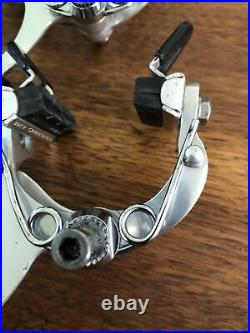 Vintage 1980s Road Bicycle parts. Campagnolo Super Record Brake Calipers. NOS