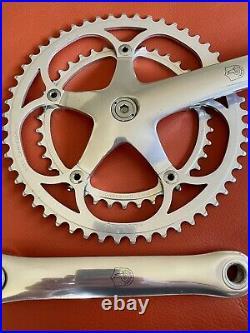 Vintage Campagnolo C-Record Crankset 53/39 180mm, Campy, road bike