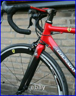 Vintage Colnago for Ferrari CF4 Campagnolo Record 10 speed carbon bicycle 52cm