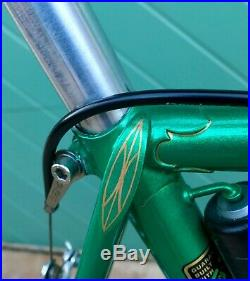 Vintage Hetchins Brilliant 58cm Road Bike Curly Stays Campagnolo Record-Restored