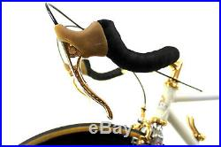 Vintage LUXURY RACE BIKE BATTAGLIN CRONO CAMPAGNOLO SUPER RECORD GOLD PLATED