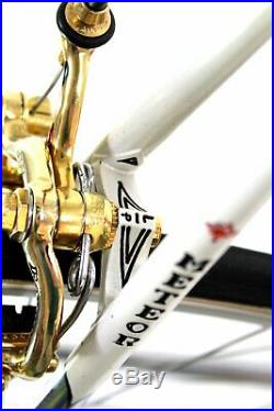 Vintage LUXURY RARE RACE BIKE PALETTI METEOR CAMPAGNOLO SUPER RECORD GOLD PLATED