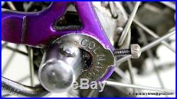 Vintage Lugged Steel Race Bike Colnago Tecnos Campagnolo Record Chorus