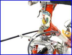 Vintage RACE BIKE EROICA GALMOZZI 1966 CAMPAGNOLO RECORD COMPLETE BARN FIND