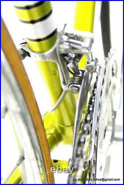 Vintage RARE Race Bike COLLECTOR LEGNANO ROMA OLIMPIADE With CAMPAGNOLO RECORD
