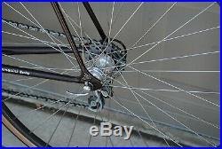 Vintage Tommasini steel road bike 56cm Campagnolo Record Gran Sport L'Eroica