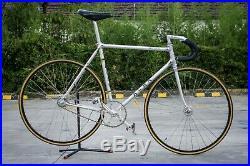 Vintage bike Alan Super Record pista 1980 with campagnolo track