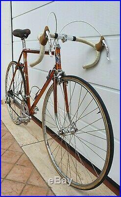 WILIER TRIESTINA RAMATA 1974 vintage italian steel road bike CAMPAGNOLO RECORD