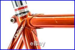 Wilier Triestina Pista Track Bicycle 56cm c-c Campagnolo Record Assos 3ttt Panto