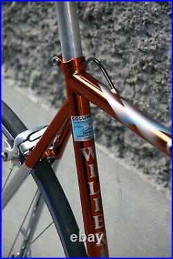Wilier triestina ramata campagnolo record 9 columbus genius italian steel bike